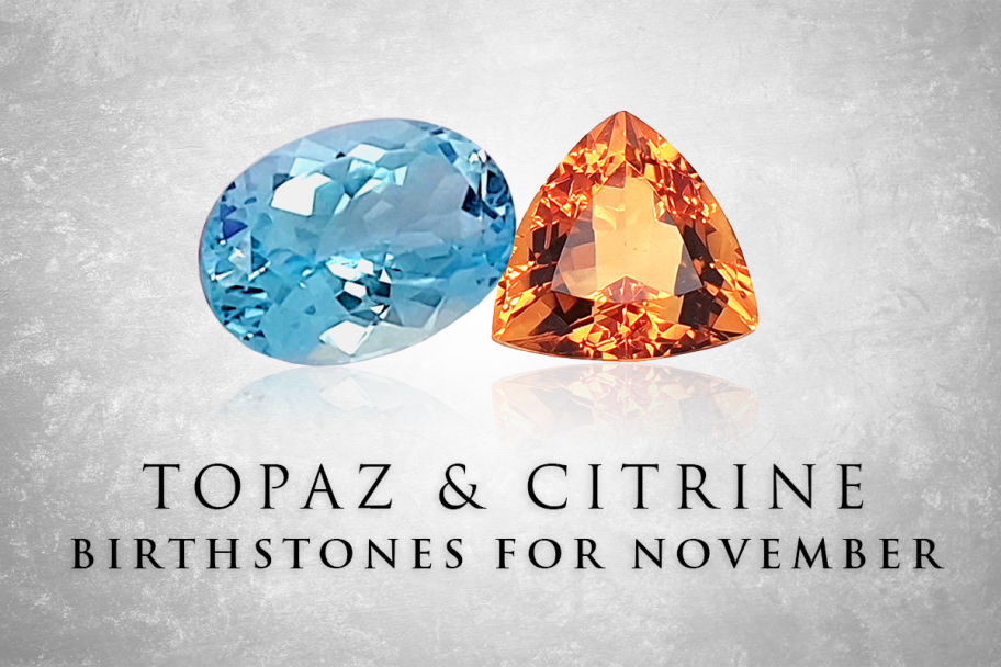 Topaz & Citrine Birthstone for November